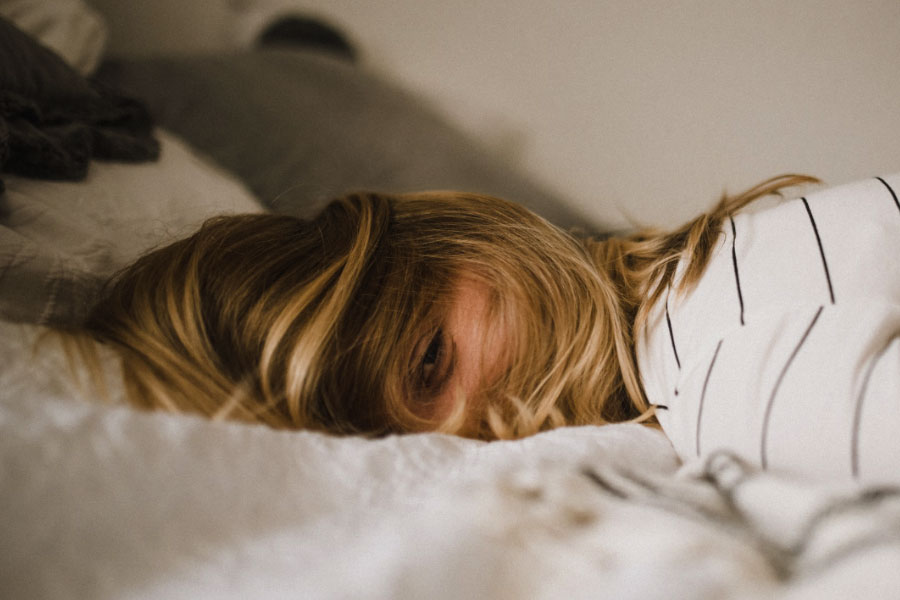 telefoon op slaapkamer voor het slapen