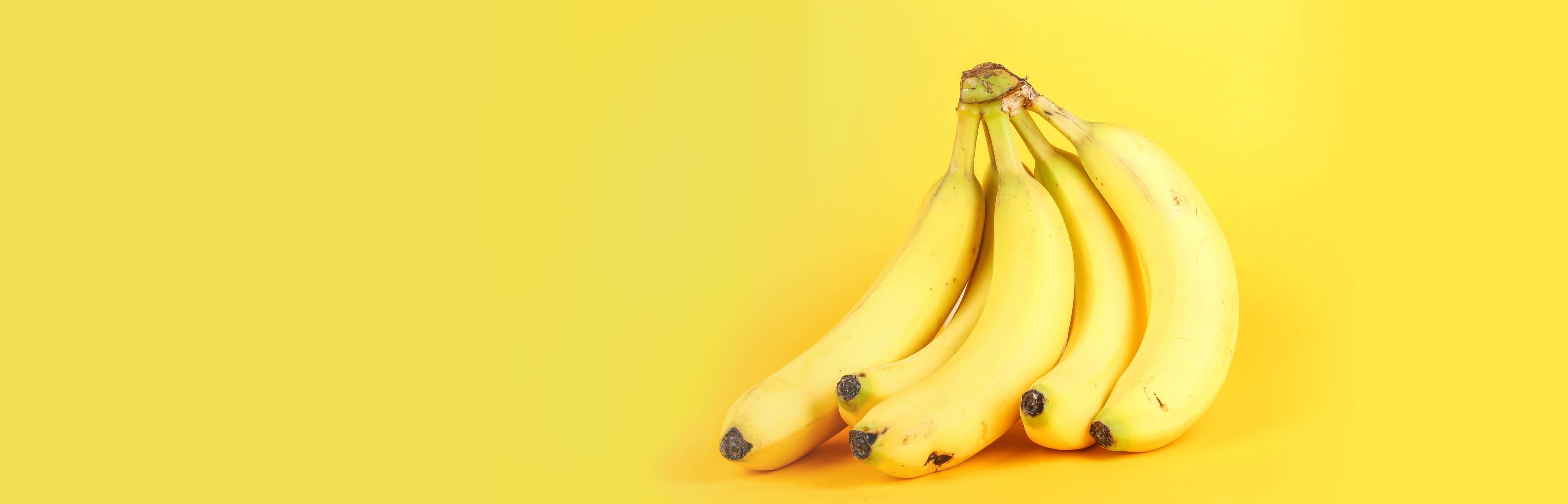 4 redenen waarom bananen gezond zijn